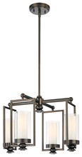 Minka-Lavery 4363-281 - 4 Light Mini Chandelier