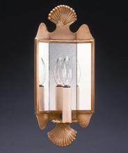 Northeast Lantern 126-AC-LT1-AM - Mirrored Wall Sconce Crimp Top And Bottom Antique Copper 1 Candelabra Socket Antique Mirror